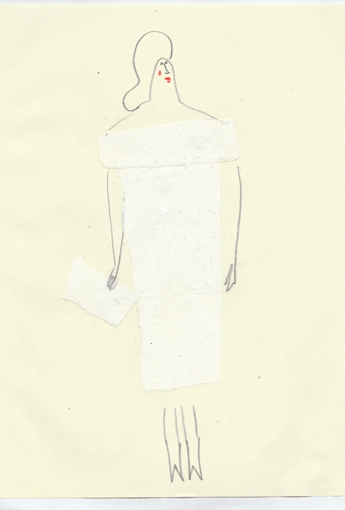 ritagli vestito
