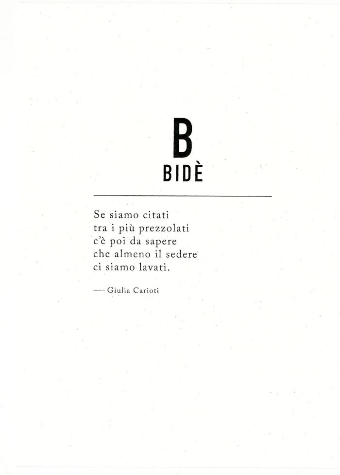 BIDE testo