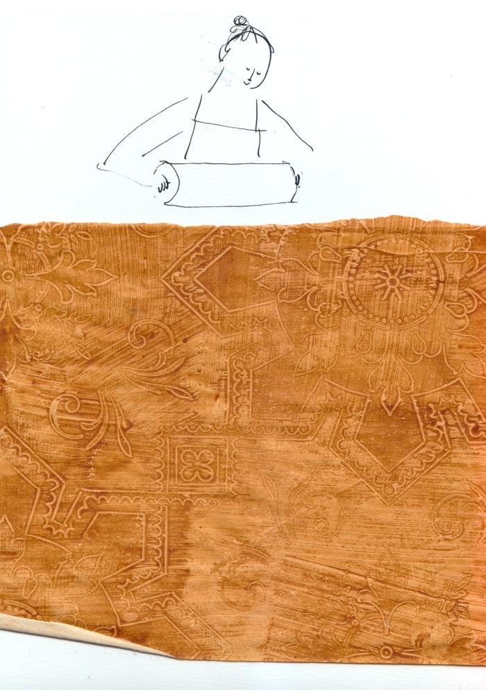 carta xilografata