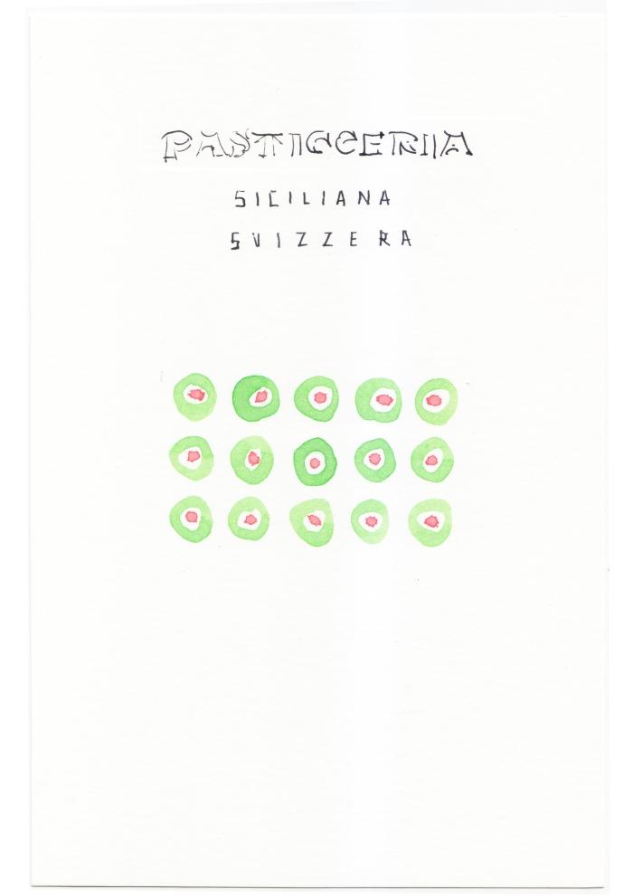 vassoi - pasticceria siciliana